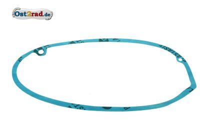 Dichtung Kupplungsdeckel super Qualität für alle MZ ES,TS,ETS 250 Plastasit blau