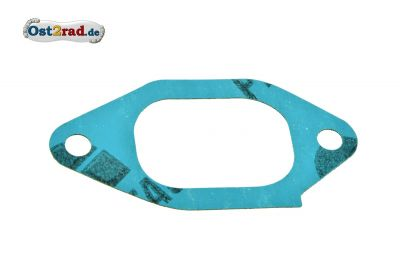 Dichtung zum Ansaugstutzen für MZ ETZ 250 / 251 Plastasit blau