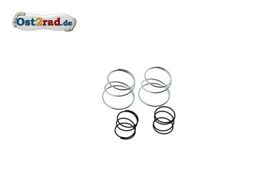 Set of compression springs for telescopic front fork MZ chromium-plates
