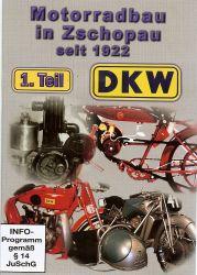 DVD Motorradbau in Zschopau 1922 - 1945 1.Teil DKW