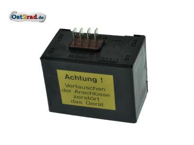 Elba 12V SR50 SR80 XGE,XCE (Blinkleuchte 2x10W) Gelbatterie mit E-Starter