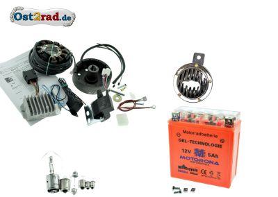 Elektronische Zündung Umrüstsatz komplett Powerdynamo/Vape 12V pass. für RT125/3