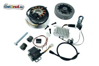 Elektronische Zündung Vape für DKW SB 350 und Luxus Sport 300 Stutzen 48mm 12V