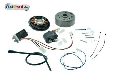 Elektronische Zündung Vape für MZ ES ETS TS 250, 12V 180W - Betrieb ohne Batterie