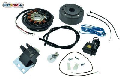 Elektronische Zündung, Zündanlage 12V passend für SIMSON SR1 SR2 KR50