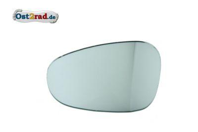 Spiegelglas, Ersatzglas Nierenspiegel, Oldtimer