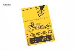 Ersatzteileliste CZ 150C Dreirad 150 ccm