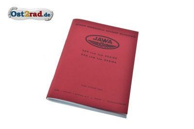 Ersatzteilkatalog Jawa 250 350 Typ 353 354 /04