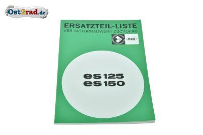 Ersatzteilkatalog ES125 ES150 Ausgabe 1968