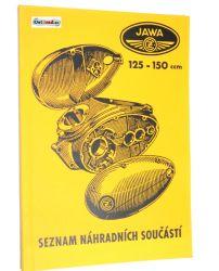 Ersatzteilkatalog Jawa 125 150 Typ 351 352