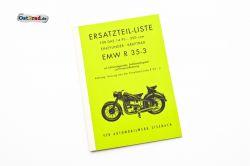 Ersatzteilkatalog EMW R 35-3