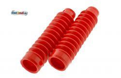 Faltenbalg PAAR für Telegabel SIMSON rot