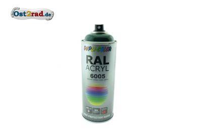 Farbspray ACRYL ähnlich BILLARDGRÜN für Simson S51 KR51/2, glänzend
