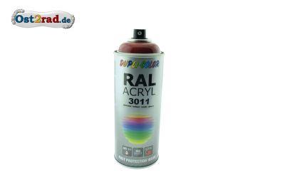 Farbspray ACRYL ähnlich BORDEAUXROT für Simson SL1 Spatz Star, glänzend