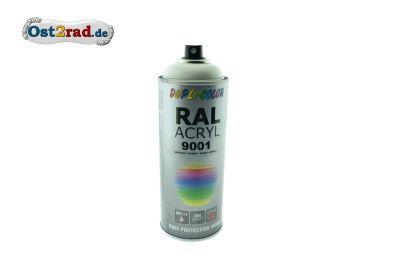 Farbspray ACRYL ähnlich ELFENBEIN für Simson ES Habicht, glänzend
