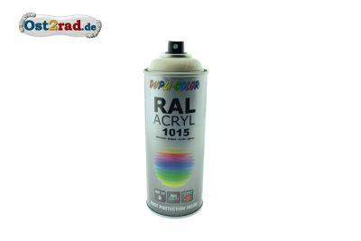 Farbspray ACRYL ähnlich HELLELFENBEIN für Simson AWO, glänzend