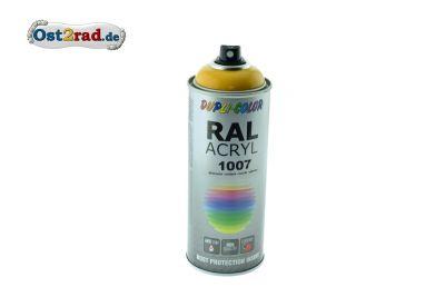 Farbspray ACRYL ähnlich NARZISSENGELB für Simson S51, glänzend