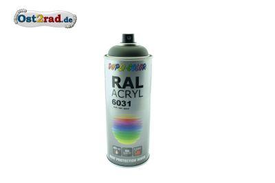 Farbspray ACRYL ähnlich NVA-grün RAL 6031, matt