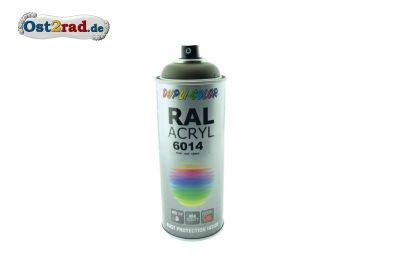 Farbspray ACRYL ähnlich OLIVGRÜN RAL 6014, matt