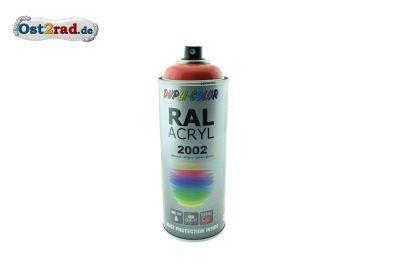 Farbspray ACRYL ähnlich ORANGEROT für MZ ETZ TS, glänzend