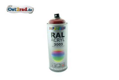 Farbspray ACRYL ähnlich RUBINROT für Simson Star, glänzend