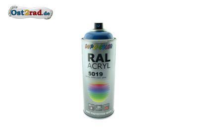 Farbspray ACRYL dunkelblau RAL 5019, glänzend