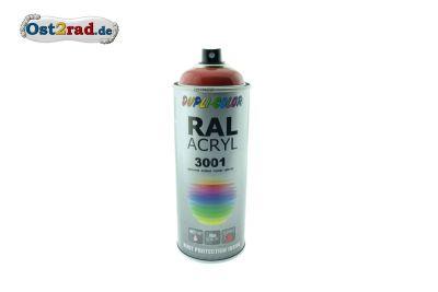 Farbspray ACRYL signalrot RAL 3001, glänzend