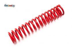Feder Federbein mit außenliegender Feder passend für MZ TS ETZ rot