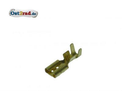 Flachsteckhülse unisoliert 2,8 mm - 6,3 mm