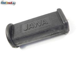 JAWA Jawa footrest rubber oval with inscription