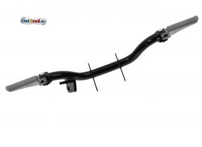 Fußrastenträger Aluraste S50 S51 S53 klappbar und 1x Federaufhängung