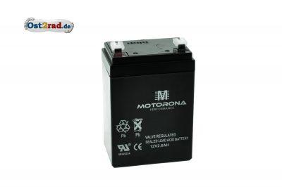 Blei-Gel-Batterie 12V 2,6Ah passend für Simson Vape Zündung
