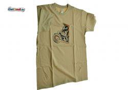 T-Shirt MZ ES 250 Geländesport karamell