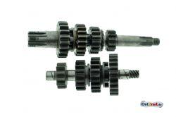 Getriebe komplett Jawa 250 350 Typ 353 354 360 559 und Perak