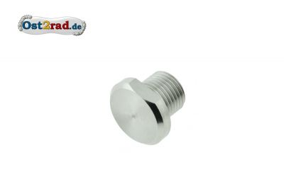 Thread stopper for the suspension unit attachment MZ ES250 / 1/2 stainless steels polishes