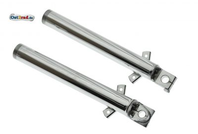 Slider fork Jawa chrome set of 2