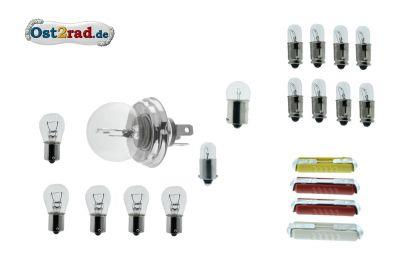 Bulb set, bulb filament 12V MZ