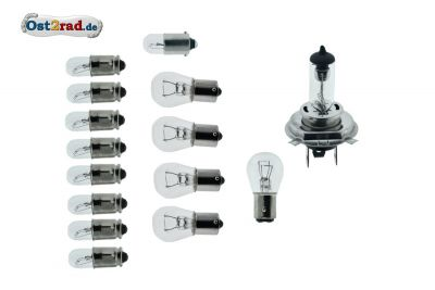 Halogen H4 bulbs set ETZ