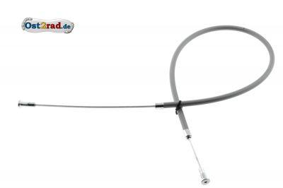 Bowdenzug Fußbremse für Blechbremsschild GRAU KR50