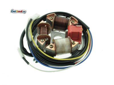 Grundplatte EMZA 6V 35/21W Bilux S51, S70