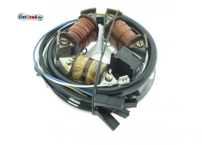 Grundplatte EMZA  S51B2, KR51/2 6V 35/21W deutsche Produktion