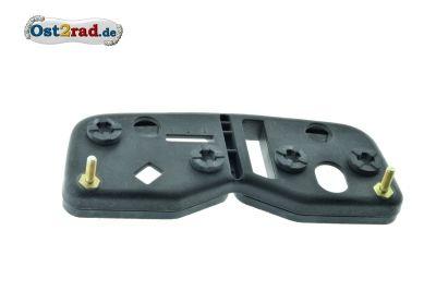 Grundplatte Tacho + Drehzahlmesser eckig passend für MZ ETZ 125 251 Saxon Rotax