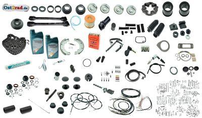 Kit pour complète restauration  MZ ETZ 125, 150, 250, 251, 301