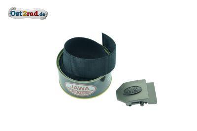 Gürtel JAWA Textil schwarz 150cm