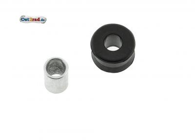 Gummimuffe + Hülse Schwinge Federbeinaufnahme passend für ES 175 250/0