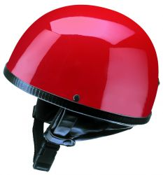 Helm Oldtimer Halbschale rot