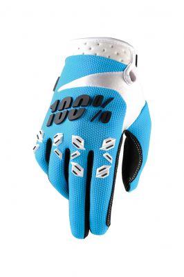 Handschuhe IXS Airmatic hell blau