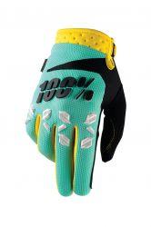 Handschuhe IXS Airmatic mint grün