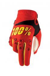 Handschuhe IXS Airmatic rot