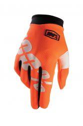 Handschuhe IXS Itrack orange-weiss